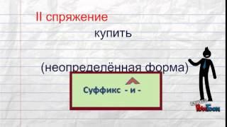 Как определить спряжение глагола?