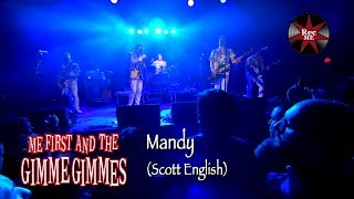 "Me First and The Gimme Gimmes ""Mandy"" (Scott English) @ Sala Apolo (10/02/2017) Barcelona"