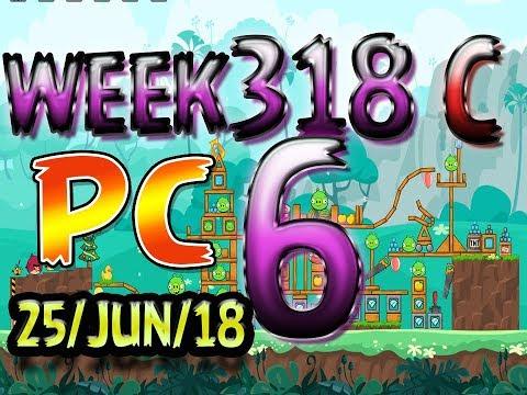 Angry Birds Friends Tournament Level 6 Week 318-C PC Highscore POWER-UP walkthrough