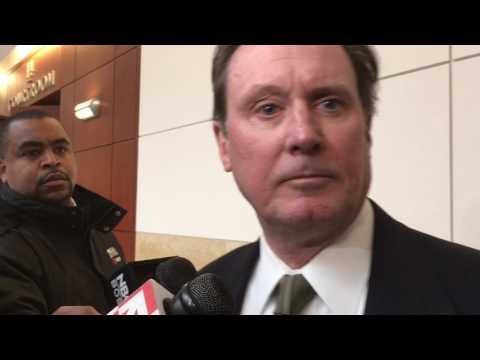 Attorney Michael Hussey speaks about murder arraignment of Jose Melendez