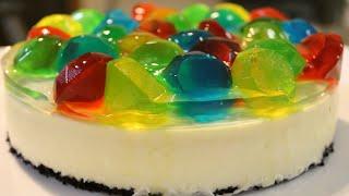 Jewel No-Bake Cheesecake ジュエルレアチーズケーキ thumbnail