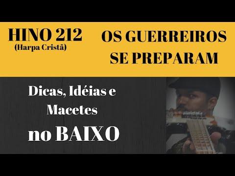 KAKA BASS  série HINOS DA HARPA CRISTÃ  OS GUERREIROS SE PREPARRAM