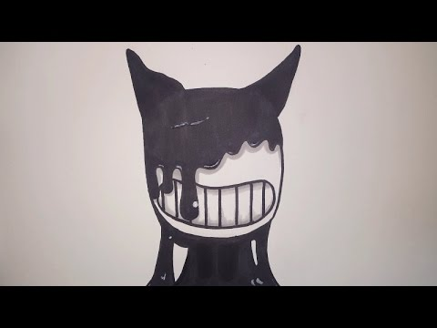 How To Draw Bendy From Bendy And The Ink Machine Step By