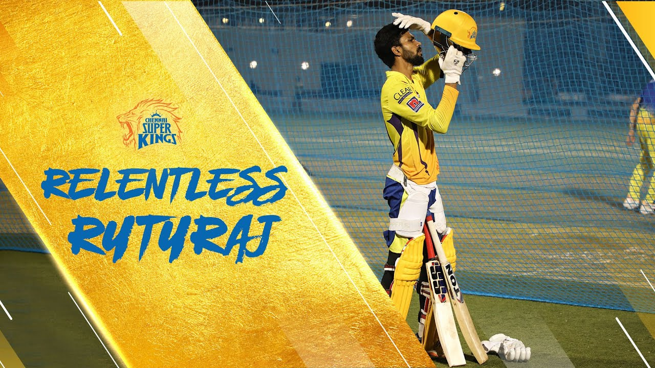 Mr. Cricket is excited for our relentless kid Ruturaj Gaikwad!