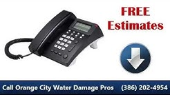 Orange City FL Water Damage (386) 202-4954 BEST Choice!