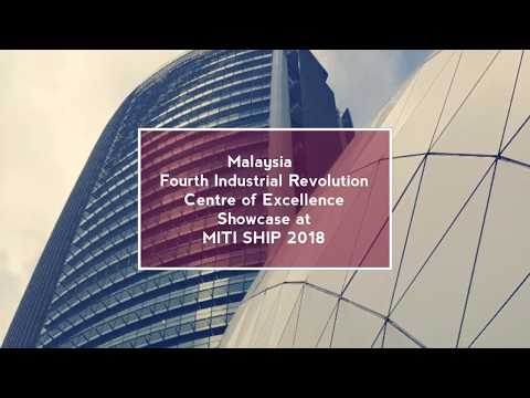 Malaysia Fourth Industrial Revolution Centre of Excellence Showcase to MITI at SHIP 2018
