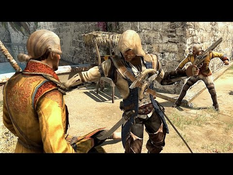 Assassin's Creed 4 Black Flag Connor`s Outfit Stealth  & Combat