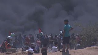 At least seven killed by Israeli forces in Gaza protests say Palestinian health officials