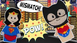 Justice League Mismatch | WigglePop