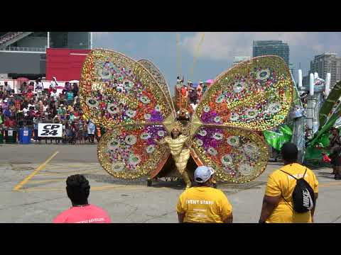Toronto Revellers - Toronto Caribbean Carnival aka Caribana - Grand Parade 2018