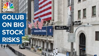 Credit Suisse's Jonathan Golub, talks big risks to stocks