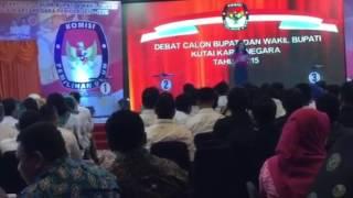 Debat Calon Bupati & Wakil Bupati Kutai Kartanegara