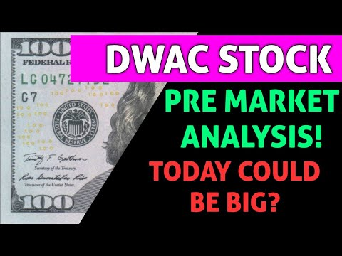 Download DWAC PRE MARKET ANALYSIS! - WILL TODAY BE A GOOD DAY FOR THIS STOCK OR WILL WE CONTINUE TO DROP?