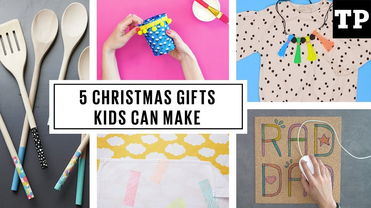 5 easy DIY Christmas gifts kids can make - YouTube