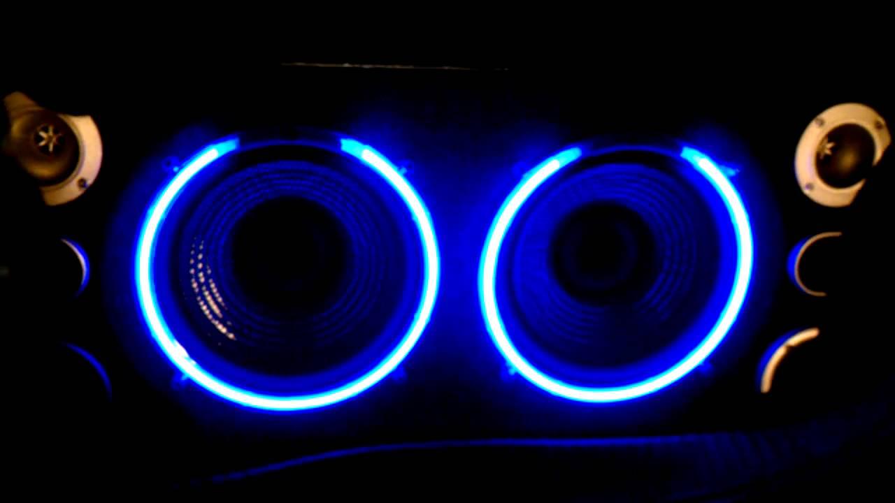 Neon Speaker Box Night 2 Youtube
