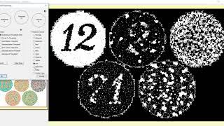 Color Blind Test Pattern Threshold Switchig Line Intensity(利用閥值轉換功能來辨識色盲測驗圖)PICMAN 影像量測軟體