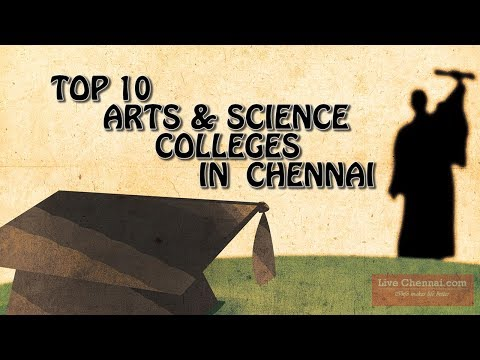 Top 10 Arts & Science Colleges In Chennai...