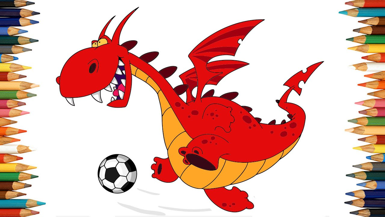 dragon coloring pages for kids dragon coloring book part 01