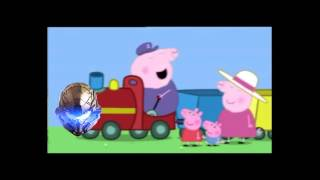 Peppa Pig YTP:Peppa Dork on Grandpa's gay train.