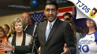 "Democratic Congressman asks ""UNITY AROUND WHAT?!?"" -Ro Khanna"