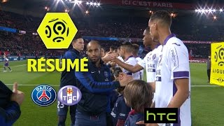 Paris Saint-Germain - Toulouse FC (0-0)  - Résumé - (PARIS - TFC) / 2016-17