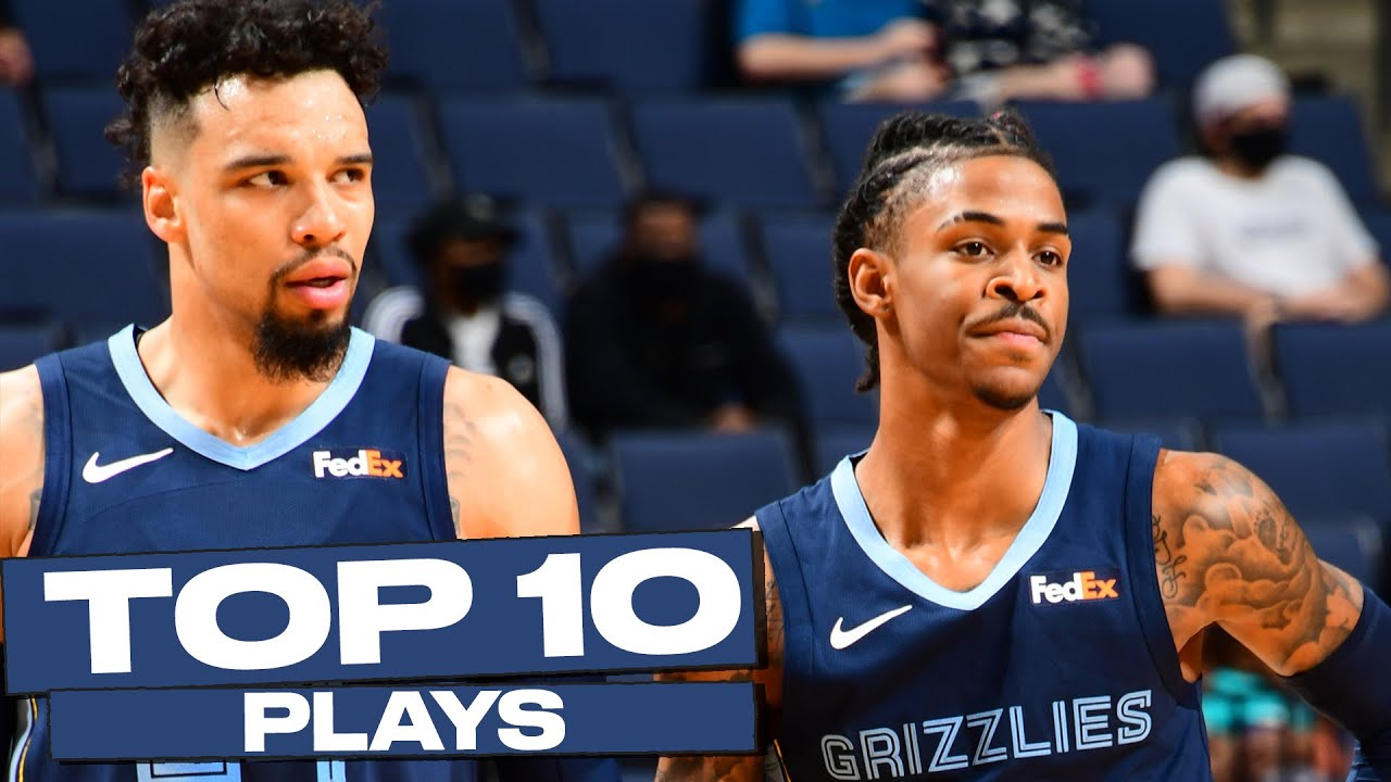 Top 10 Memphis Grizzlies Plays of The Year! (Ja Morant, Kyle Anderson, & More) 🔥