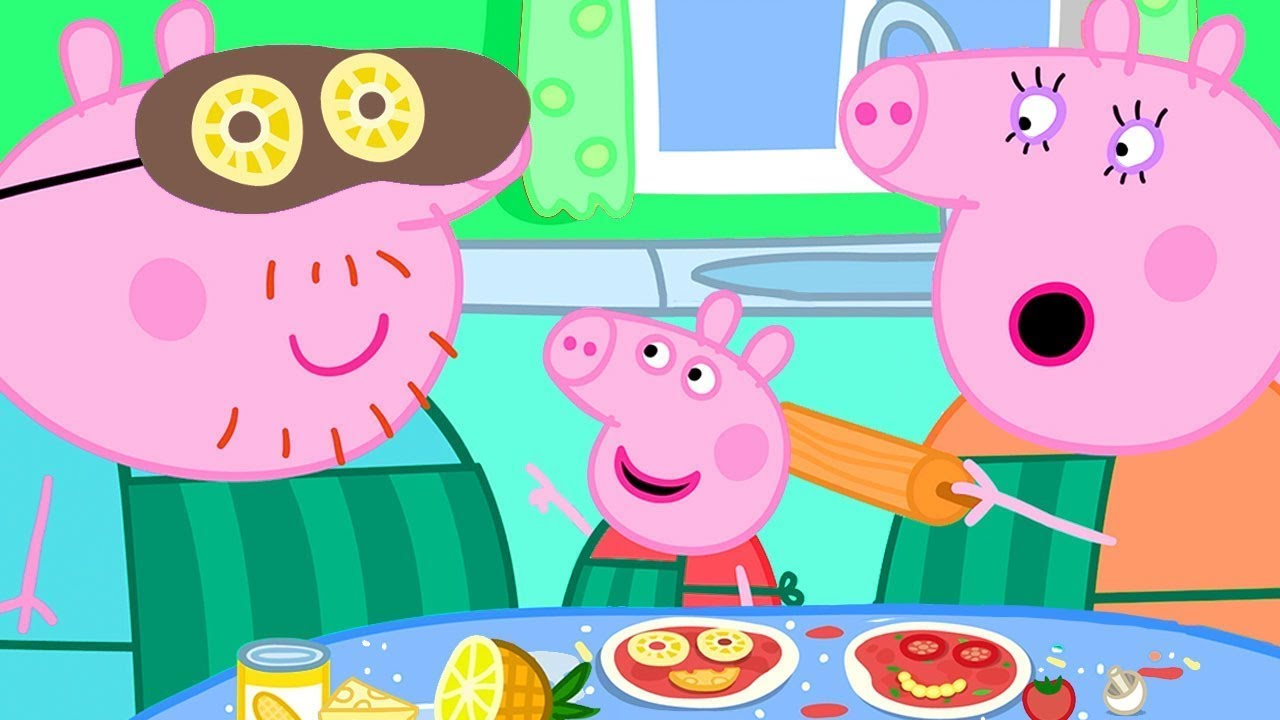 Download Peppa Pig Official Channel | Peppa Pig Adds Pineapple in Her Pizza