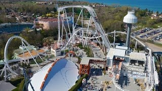 Top 15 roller coaster in italia 2015