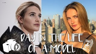 A Day In The Life Of A Model | My Life In Fashion, BTS, & On Set | Sanne Vloet