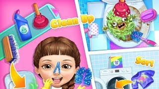 Fun Baby Care Game Cleanup 5 Messy House Makeover Part 2 | App for Kids on Android, iPad, iOS