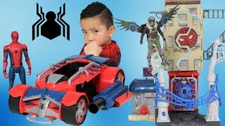 Spiderman Homecoming Toys Spider Racer & Marvel
