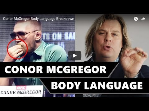 Conor McGregor Body Language Expert Mark Bowden