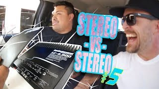 Audio Control LC-4.800 amplifier - VS - JL Audio HD600/4 In the TRIPLE CHROME CAMRY!- AMPLIFIED #672
