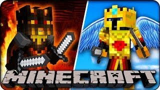 Minecraft : HEAVEN AND HELL IN MINECRAFT??