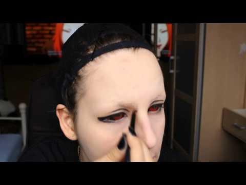 Uta [Tokyo Ghoul] make up tutorial