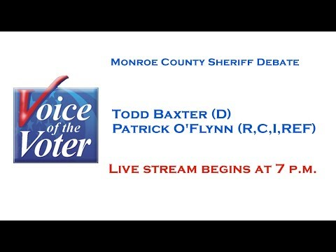 Voice of the Voter Debate | Monroe County Sheriff | October 25, 2017