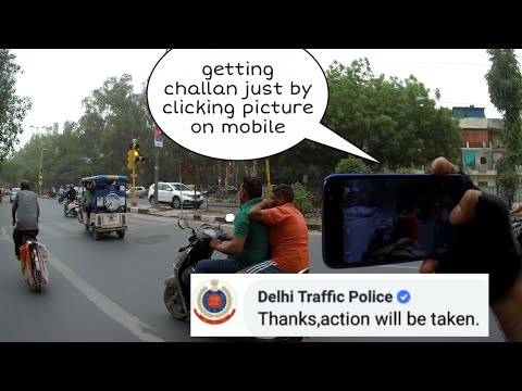 Can you Challan People who Break Traffic Laws from your Mobile Phone???