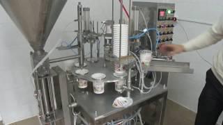 Упаковочное оборудование. Автомат расфасовки в пластиковые стаканчики(Производство фасовочно-упаковочного оборудования http://inta.org.ua/M2.html e-mail: intakiev@mail.ru Cup Filling And Sealing Machine. Packaging..., 2015-03-18T16:47:13.000Z)