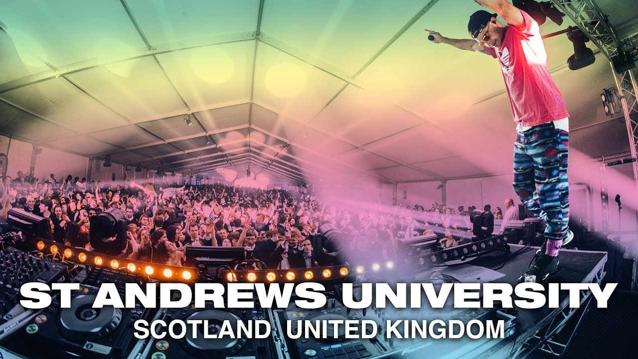 Fisher Crowd Control, Show Me Love, Funky Friday Remix, Live DJ Set to 5000  students in Scotland UK