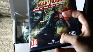 Dead Island: Game of the year edition limited Collectors box unboxing