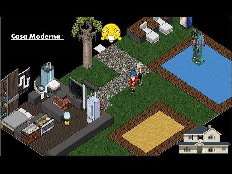 Como fazer uma casa moderna no habbo for Casas en habbo
