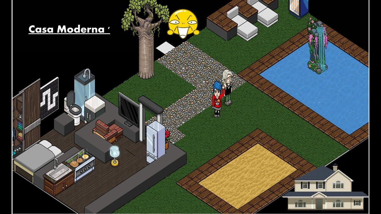 Como fazer uma casa moderna no habbo by spike habbo for Como hacer una casa en habbo