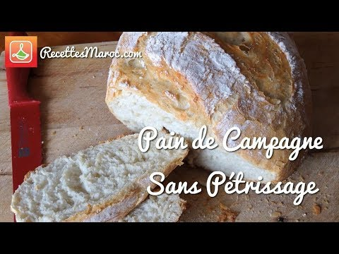 recette-pain-de-campagne-sans-pétrissage-ni-machine