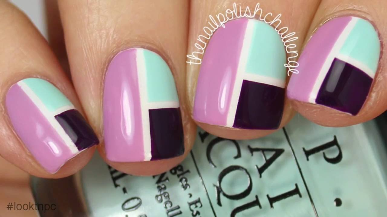 Easy Nail Designs With Tape Step By Step | www.pixshark ...