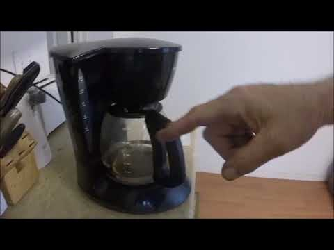 HOW TO CLEAN AUTOMATIC DRIP COFFEE MAKER, EVEN BUN.