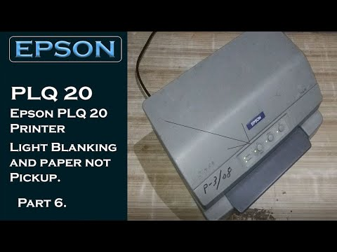 epson-plq-20-light-blanking-|-epson-plq-20-printer-paper-not-pickup-|-#infotech4you