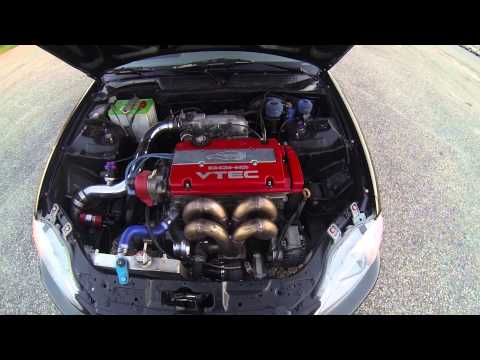 Project Turbo Honda civic Hatchback jdm h22a