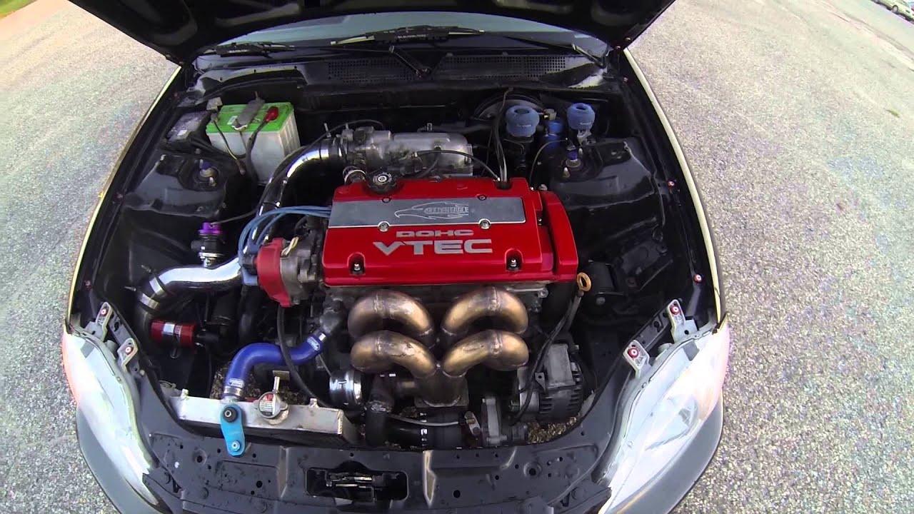 Project Turbo Honda civic Hatchback jdm h22a by KennyDBaby
