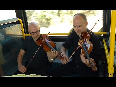 AS Music on wheels with orchestral performances on the bus to spread culture