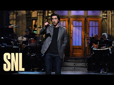 Adam Driver Monologue - SNL